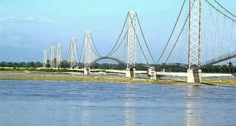Dodhara-Chandani Multi-Span Suspension Bridge
